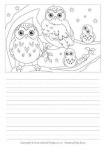Owl Essay Writing by Owl Story Paper 2