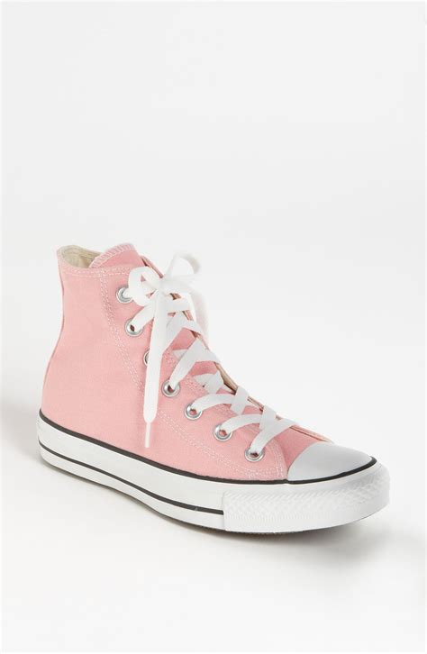 Convers Higt x6ye6t6m uk quartz pink converse high tops