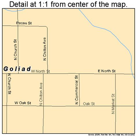 where is goliad on the map goliad map 4830080
