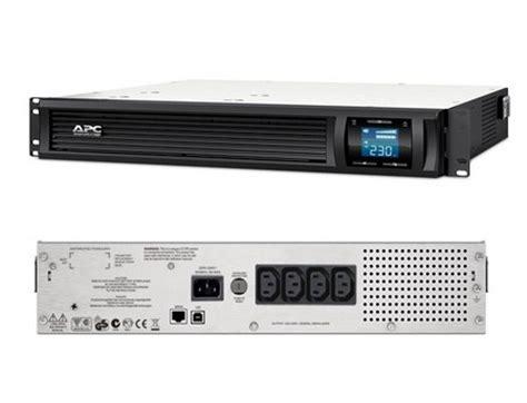 เคร องสำรองไฟ apc smart ups smc1000i 2u rackmount 1000va 600w lcd display line interactive ups