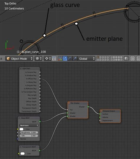 cycles light path magic in blender cycles light path glass blender stack exchange