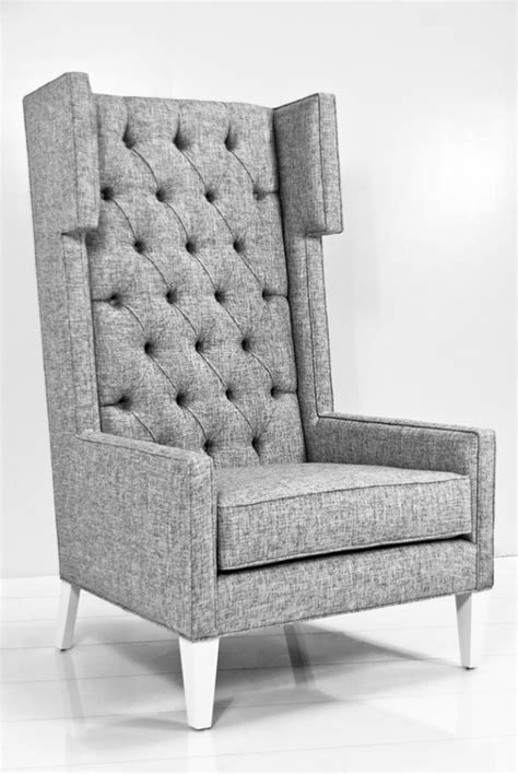 tall back armchair wingback dining chair awesome tall wing back chairs