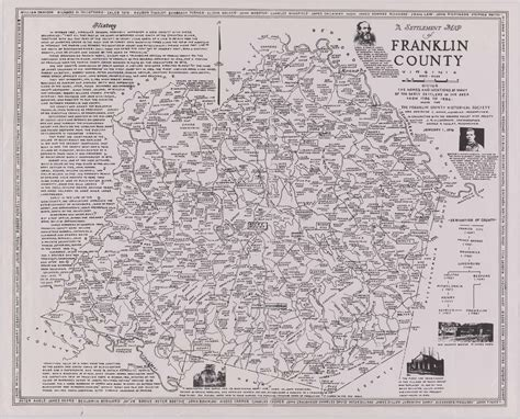 Franklin County Records Search Settlement Map Franklin County Va