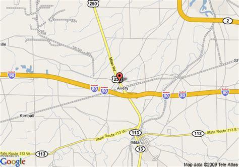 Comfort Inn South Point Ohio by Map Of Comfort Inn Cedar Point South Milan