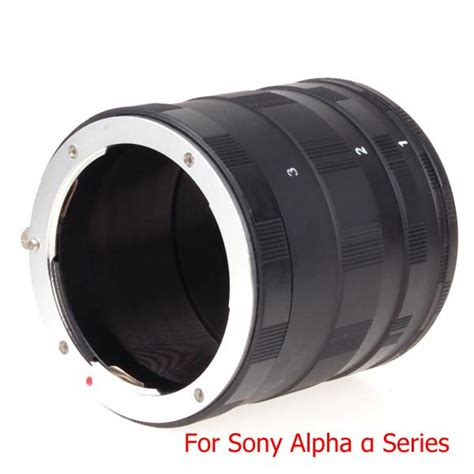 Kamera Sony Dslr A580 macro extension ring set for sony dslr a 遽 series a33