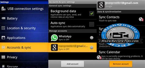 remove gmail account from android how to remove or add gmail account on android phone