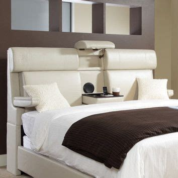 King Size Headboard With Storage And Lights by Yacine Upholstered Headboard The Ha Secret Compartment