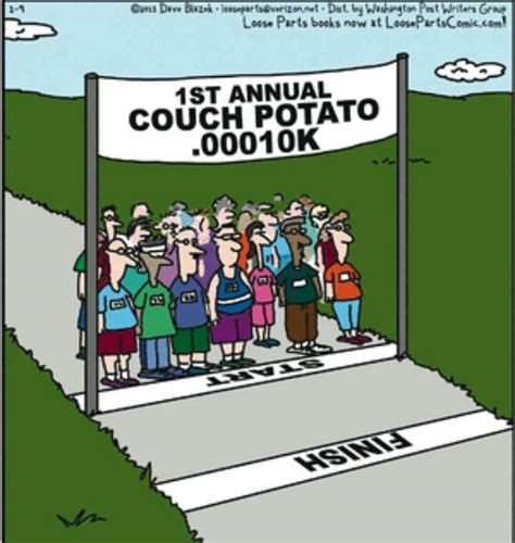 couch potato to marathon friday funny floatsome