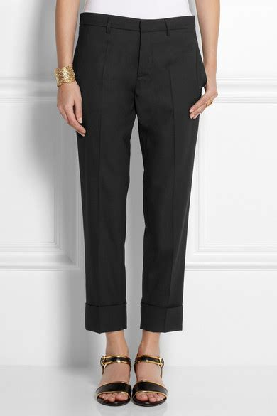 Cropped Wool Tapered marni cropped wool tapered net a porter