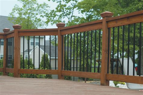 decking banister deck railing ideas
