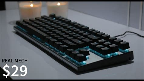 Keyboard Imperion Mech 7 rgb mechanical keyboard for 29 imperion mech 7