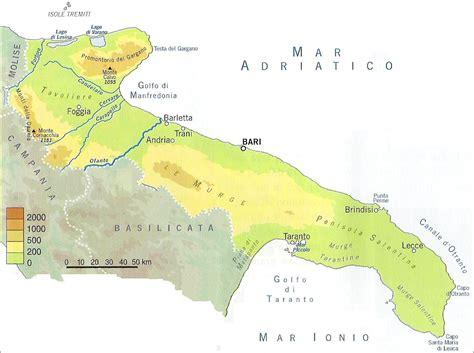 tavoliere delle puglie cartina chi viaggia impara immagini dal mondo italia puglia
