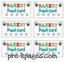 Chore Chart For Kids How To Make A Chore Chart printable punch cards for dramatic play