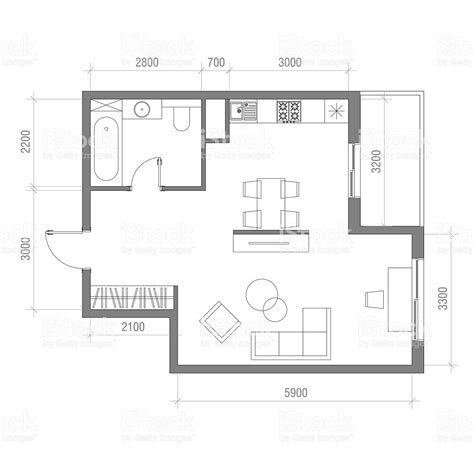 art studio floor plan architectural floor plan with dimensions studio apartment