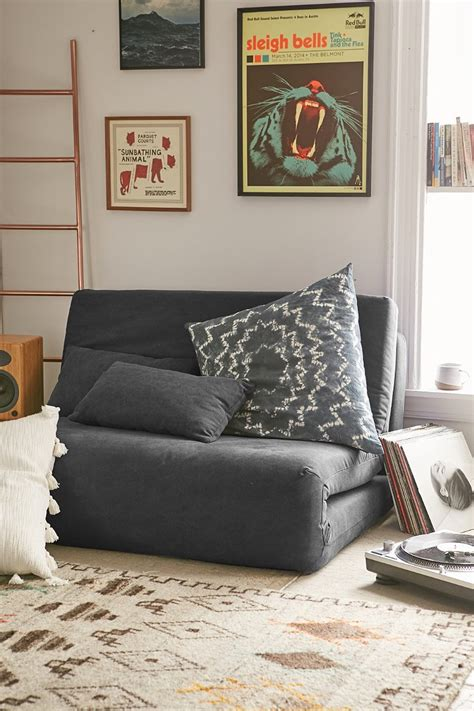 folding sleeper loveseat folding sleeper loveseat urban outfitters
