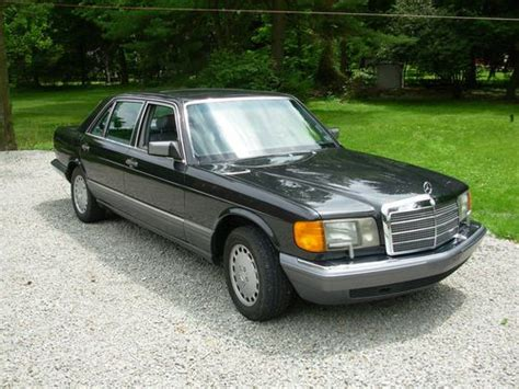 how to learn all about cars 1990 mercedes benz w201 user handbook buy used 1990 sel 560 mercedes benz v8 very good condition executive owned in pittsburgh