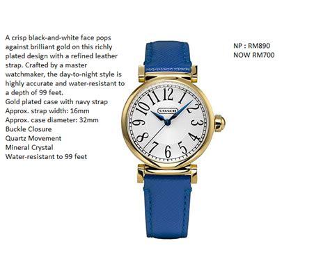 Jam Tangan Coach kedai lulu jam tangan import harga promosi