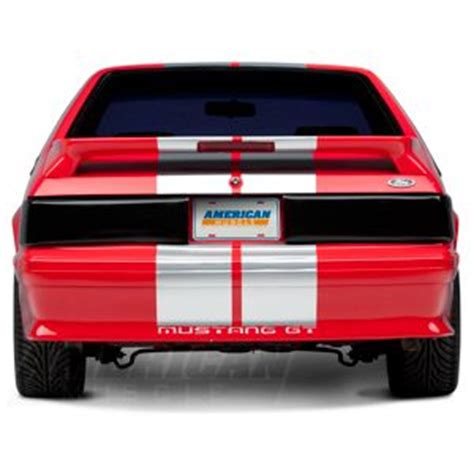 fox body mustang tail lights replacement fox body mustang tail light options