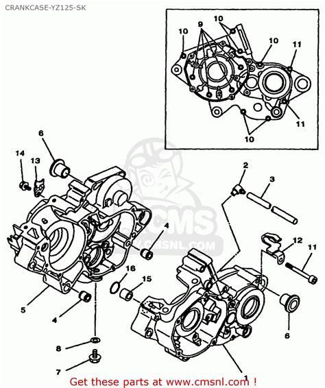 yz 125 parts ebay wiring diagrams wiring diagram schemes