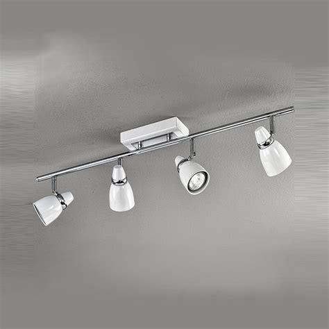 4 spotlight ceiling light franklite spot8934 pixon 4 light white ceiling spotlight