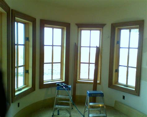 trim a window interior current interior trim carpentry picture post