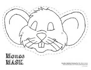 Mouse Mask Template Printable by Mouse Mask Masks And Animal Masks On