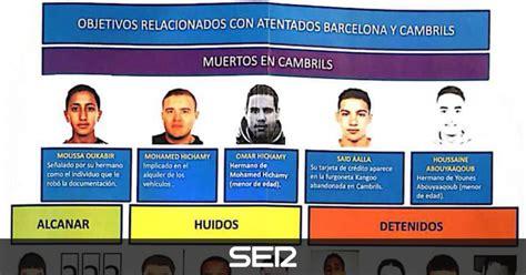 cadena ser barcelona programacion los mossos reconstruyen los atentados en catalu 241 a r 224 dio