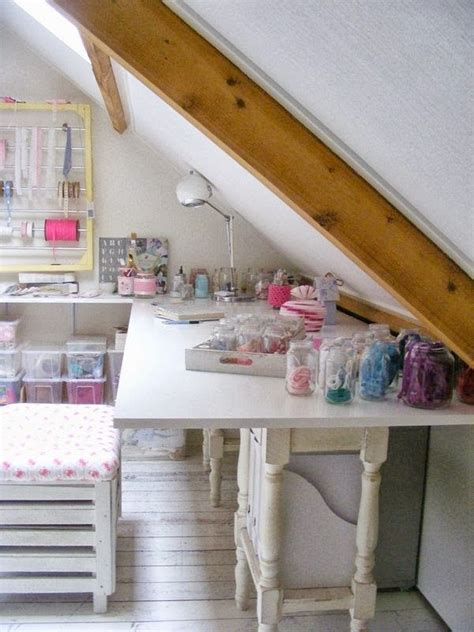 attic craft room ideas a creative attic craft room storage ideas