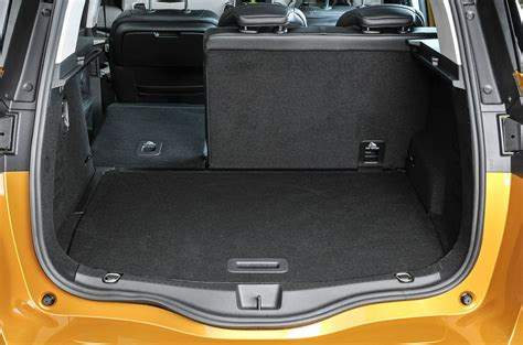 renault grand scenic luggage capacity renault scenic review 2017 autocar