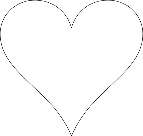 5 printable heart templates for rubber sting