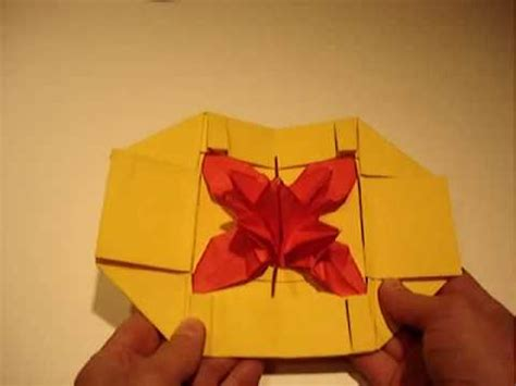 Origami Pop Up Flower - origami flower pop up