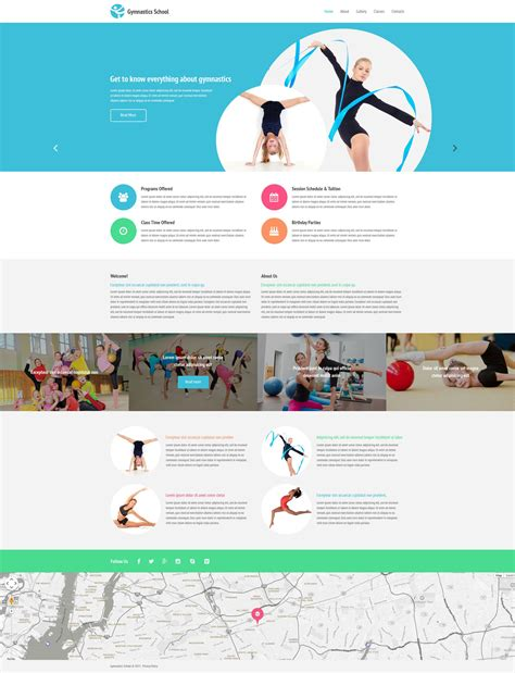 templates for review website fitness web template