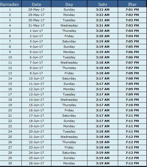 when does ramadan start 2018 ramadan calendar 2018 sehri time iftar time detail