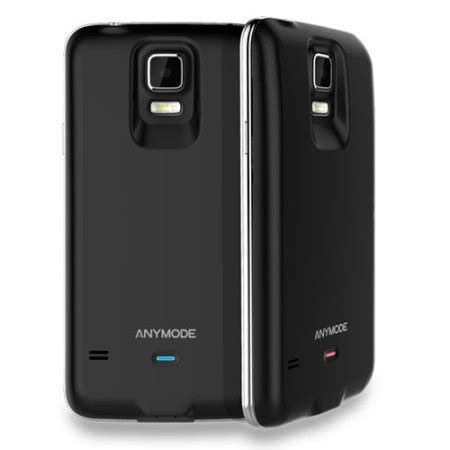 Anymode S View Cover For Samsung Galaxy S5 G900 Original anymode samsung galaxy s5 power cover black