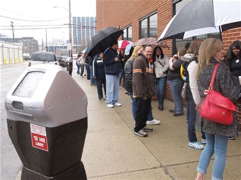 Columbus Department Records Request Hundreds Line Up To Request Birth Records The Blade