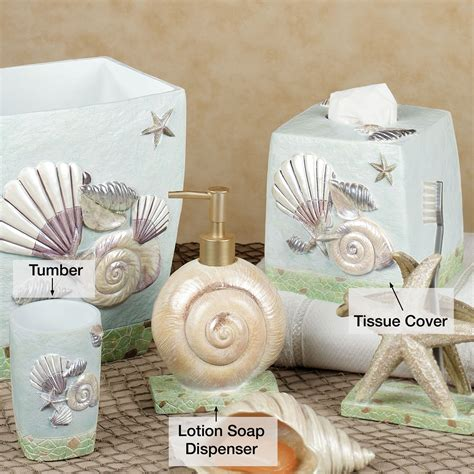 seashell bathroom decor large and beautiful photos