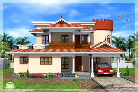 House Plans Kerala Model 2665 Square Kerala Model House Kerala House Design