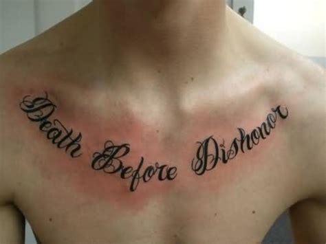 chest lettering tattoo quotes great quote lettering tattoo on chest tattooshunter com
