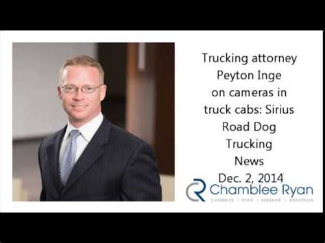 Dallas Truck Lawyer 2 by Dallas Trucking Attorney Peyton Inge On Cameras In Truck