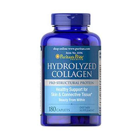 Goodfit Fish Collagen 1000mg puritan s pride hydrolyzed collagen 1000 mg 180 caplets health funatics