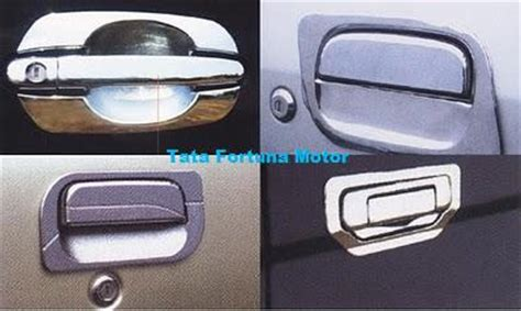 All New Innova Outer Handle Activo Chrome Aksesoris Toyota Innova tata fortuna variasi mobil door handle and outer
