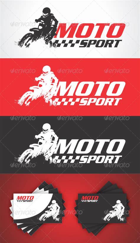 moto sport logo graphicriver
