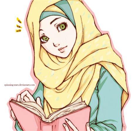Anime Muslimah | anime muslimah cartoon pinterest