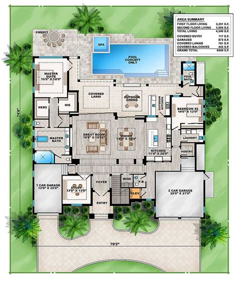 architectural house plans gaborone grand florida house plan 86041bw architectural designs