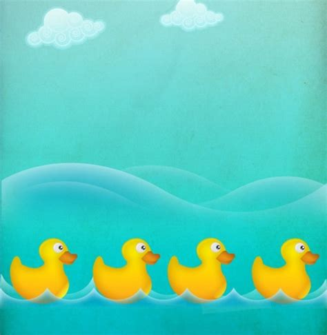duck backgrounds ducks in a row water vector background welovesolo