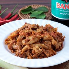 mushroom rendang recipe suwir culinary indonesia