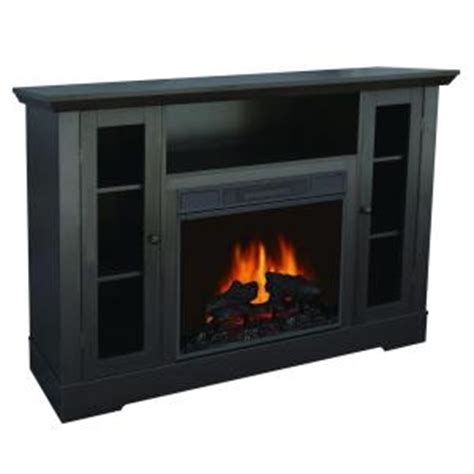 quality electric fireplace quality craft 55 in media console electric fireplace in