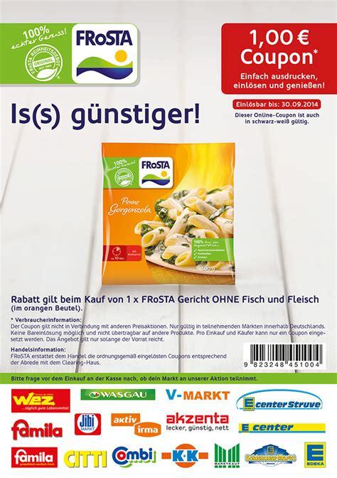 discount voucher reiss frosta coupon einkaufen vegetarisch gerichte ohne fisch