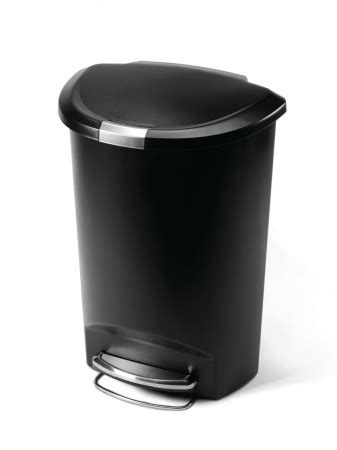 simplehuman in cabinet trash can heavy duty steel frame top 5 best kitchen trash cans 2016 top 10 of