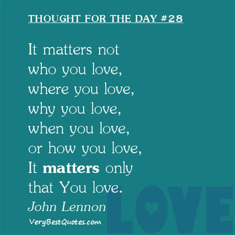 images of love thoughts it matters not john lennon a pondering mind